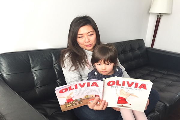 Monica Hui and her daughter Grace